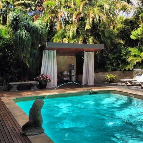 Poolside at Gaia Retreat & Spa