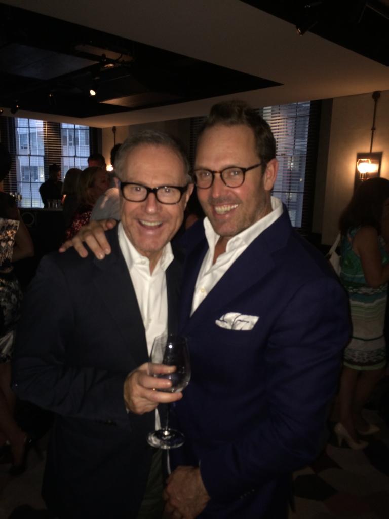 Brent with Craig Markham at QT Hotels