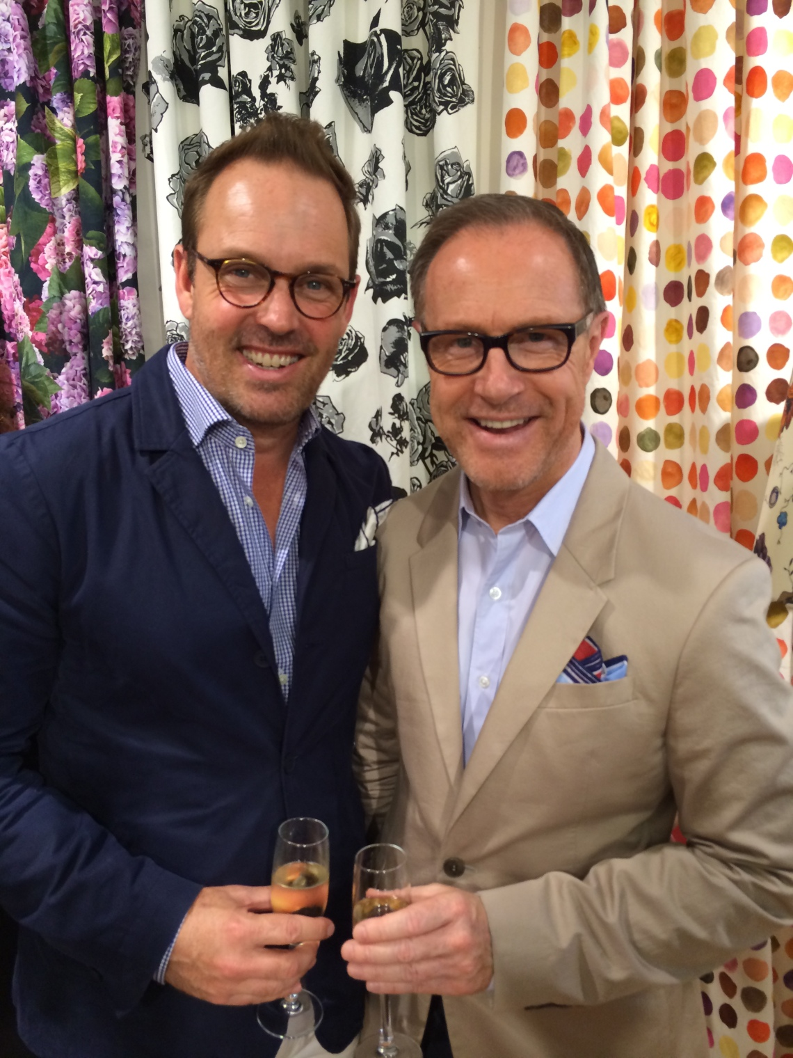 Brent with Craig Markham - Firmdale Hotels