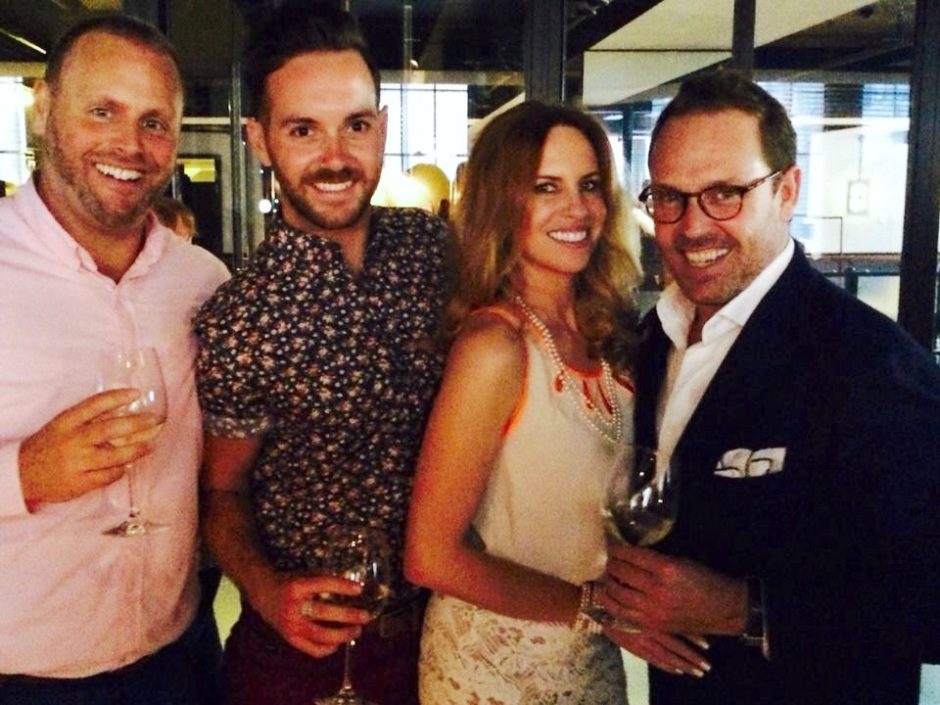 My Fairflights / Riche Luxury Travel team at the Firmdale Cocktail Party