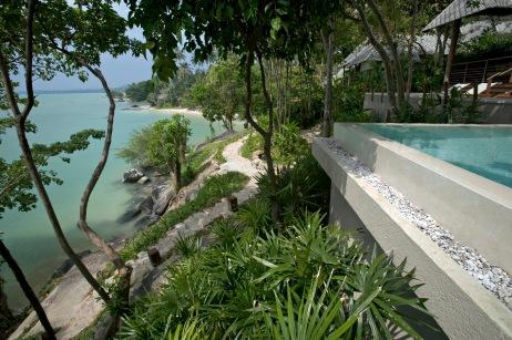 2 Bedroom Beach Front Pool Villa at Kamalaya