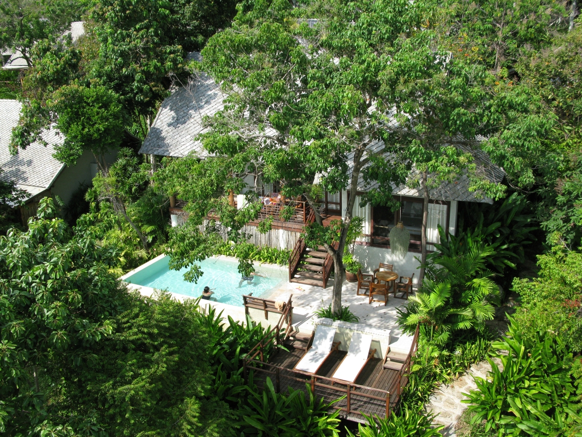 Kamalaya Beach Front Pool Villa