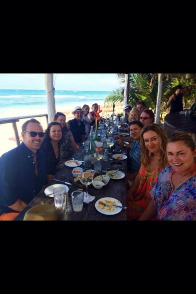 Lunch at Papaya Playa Project