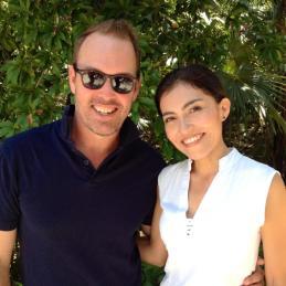 Our gorgeous host Litzie at Esencia Estate