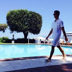 Poolside at J.K. Place Capri