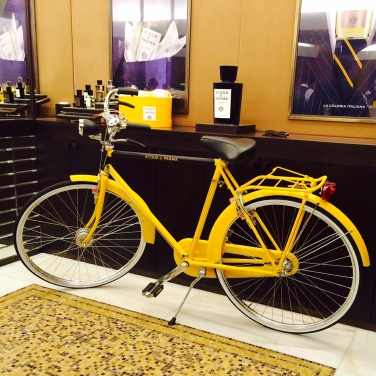 Acqua di Parma bicycle