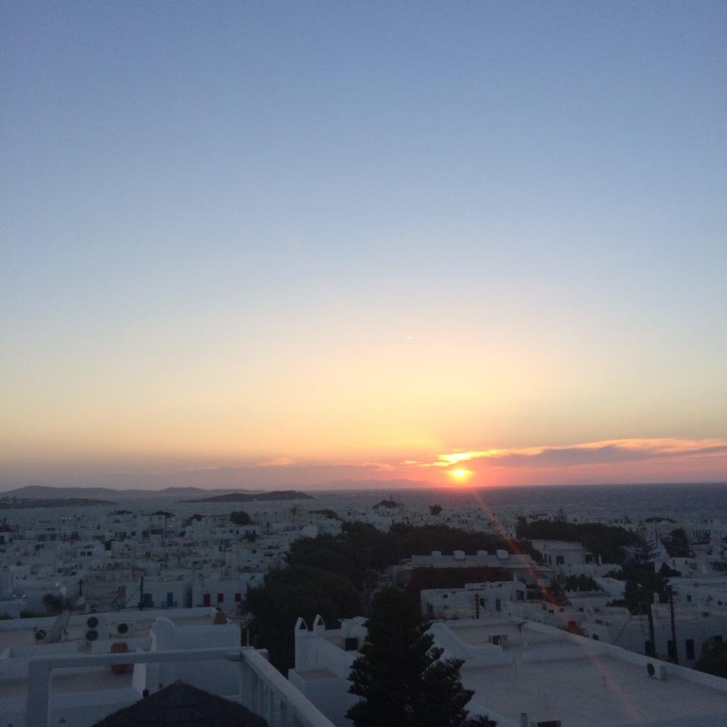 Sunset from Rochari