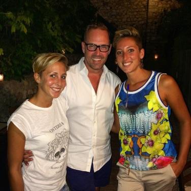 Dinner hosts Taormina style!