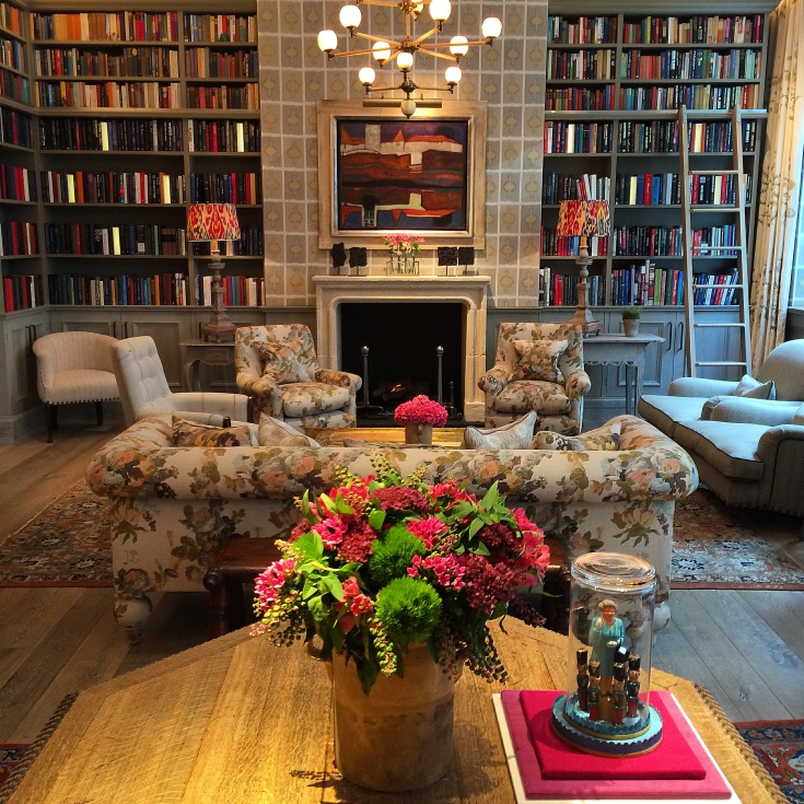 Ham Yard Hotel Library