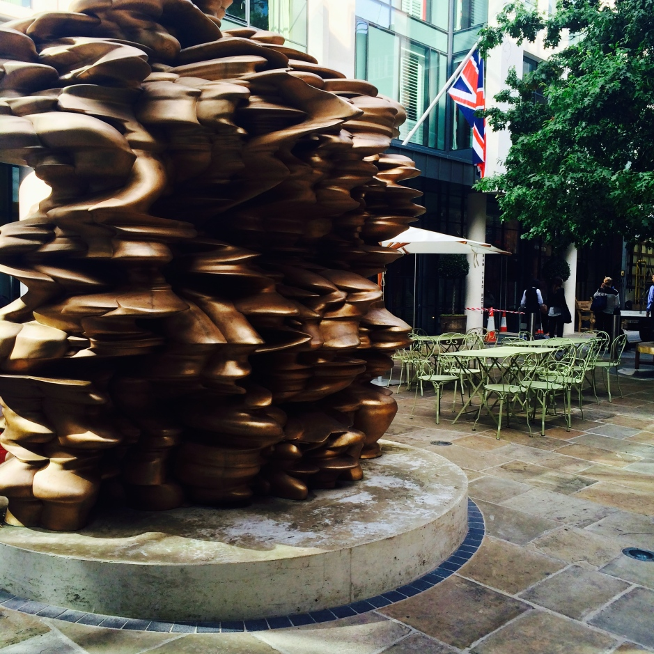 Tony Cragg bronze sculpture