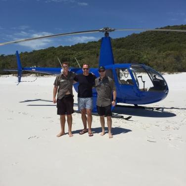 Hamilton Island Air crew