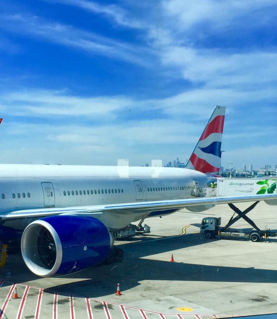 British Airways Boeing 777-ER
