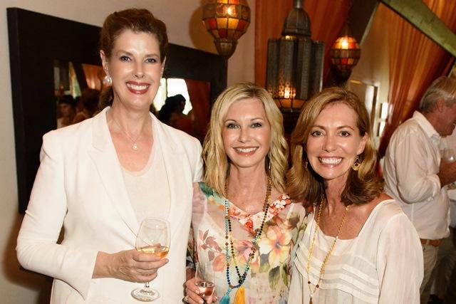 Deborah Thomas, Olivia & Kerry Armstrong