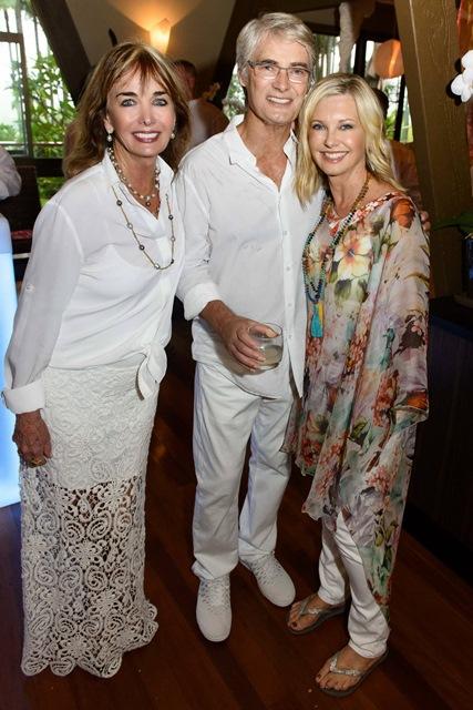 Pat & John Farrar with Olivia Newton-John