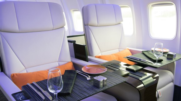 Four Seasons Private Jet Interior