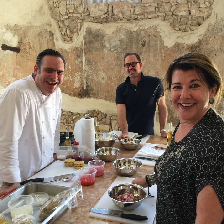 Cooking class with Robero Solis